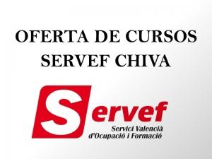 Actividades de Orientación Laboral en el Centro SERVEF de Chiva en febrero de 2018